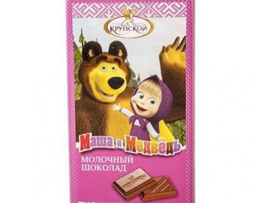 chocolat masha et mishka